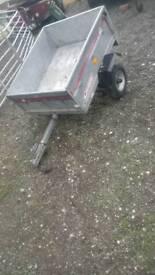 Erde tipper trailer