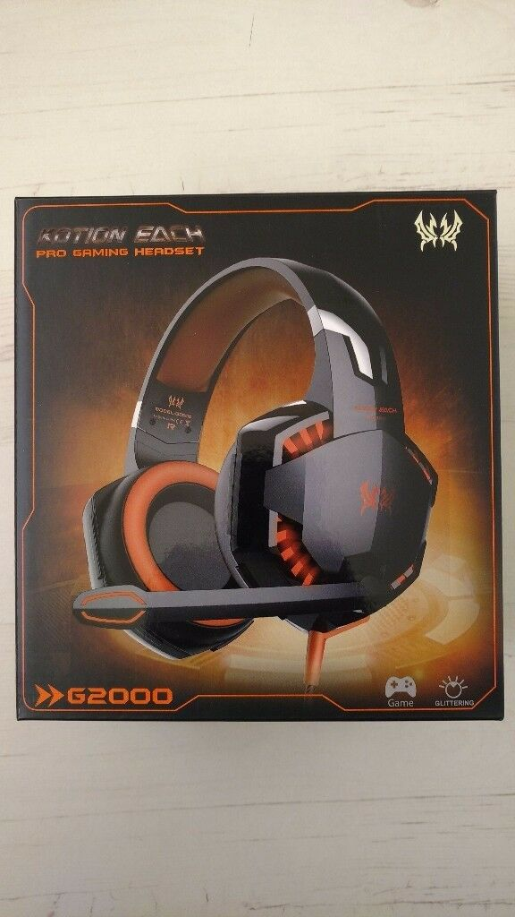 Pro Gaming Headset Kotion Each G2000 In Wollaton