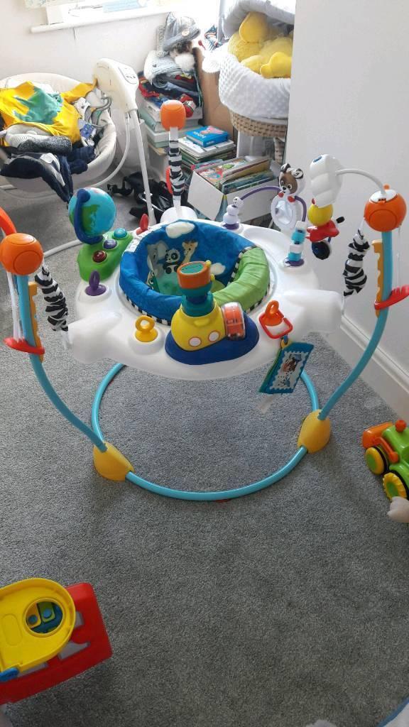4f4e8d5a19ce Baby Einstein Jumperoo Bouncer Chair