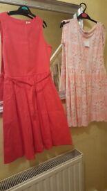 2 X Age 11-12 YEARS GIRLS DRESSES BNWT