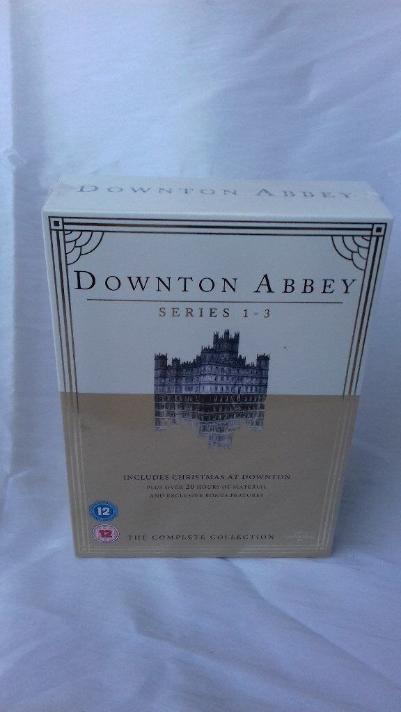 Downton Abbey 3 DVDs boxed and sealed