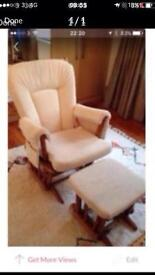 Arm chair / rocking chair and stool
