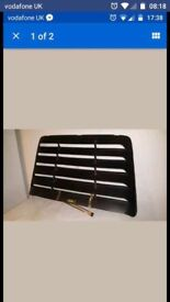 Mk1 vauxhall astra gte rear window grill