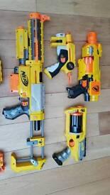 6 x Nerf Guns