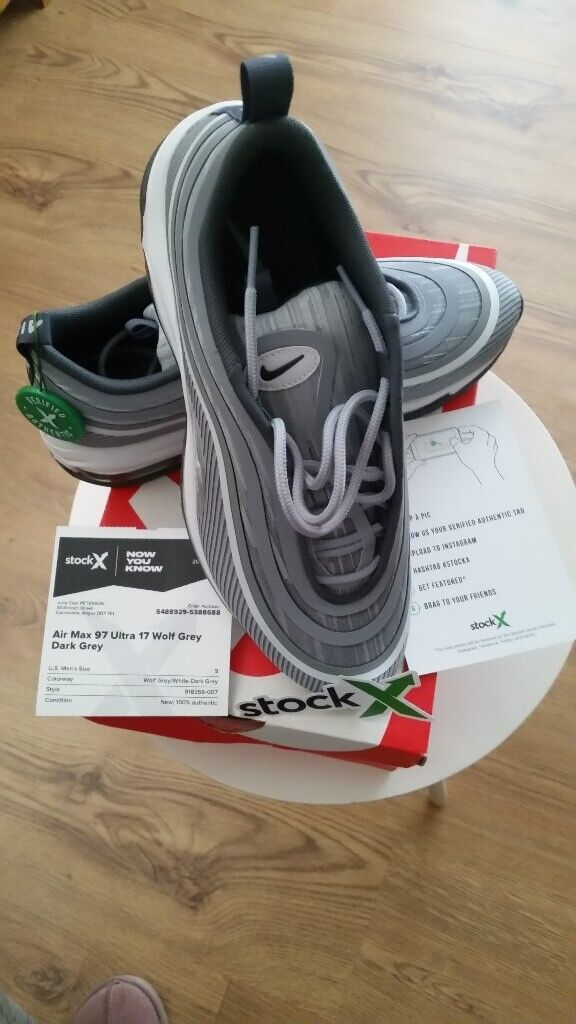 new product 609c9 85c07 Air Max 97 Ultra 17 Brand New....in Box....StockX authenticity confirmed. |  in Carnoustie, Angus | Gumtree