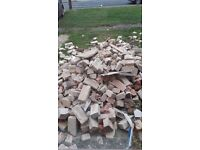 Free brick rubble hardcore