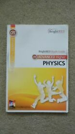 CFE ADVANCED HIGHER PHYSICS BRIGHT RED STUDY GUIDE