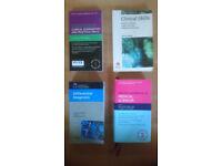 Medical Textbooks - OXFORD HANDBOOK, Churchill differential diagnosis etc