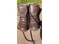 Pair of Hi-Tec waterproof walking boots, size 8.