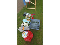 Toys and clothes for carboot sale