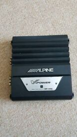 Alpine monoblock amplifier