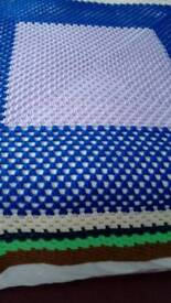 Crochet Hand Made Throw or Blanket.