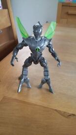 Ben 10 Nanomech action figure approx. size 6 inches great condition