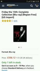 Friday 13th full blu-ray boxset copy