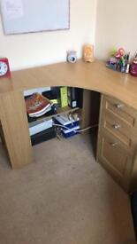 Corner computer desk / study table