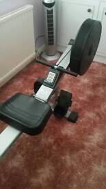 V-Fit AR1 Folding Air Rowing Machine