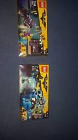 2x lego batman movie sets