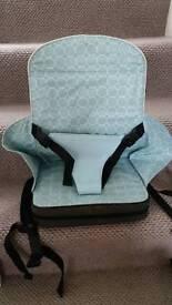 Polar Gear booster travel high chair seat