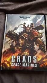 Warhammer chaos codex' space marines and daemons