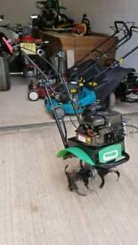 petrol rotavator briggs and stratton excellent condition