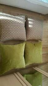 Large cushions from next