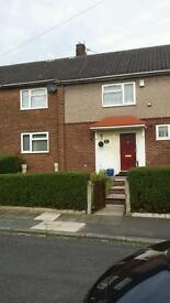 Big 4 bedroomed council house swop for 3 bedroomed