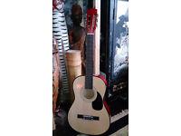 Acoustic John Lewis Guitar