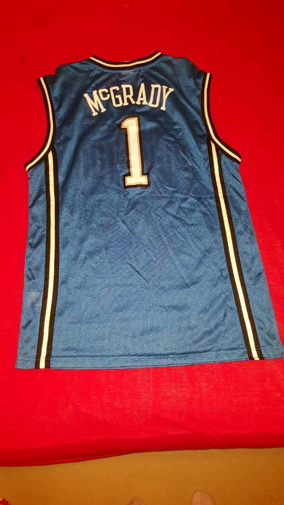 REEBOK VINTAGE TRACY McGRADY NBA JERSEY  91b3d49b8