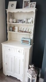 Welsh dresser upcycled, solid construction.