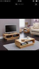 Full living room furniture set in beech