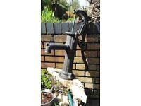 Cast Iron Ornamental Garden Pump