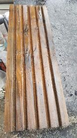Larch quality decking