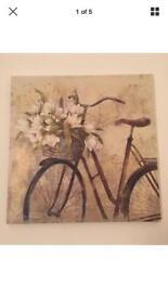 Bicycle square canvas