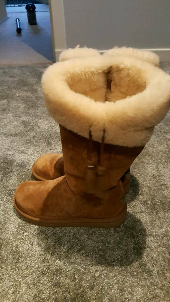 tall chestnut uggs size UK 6.5