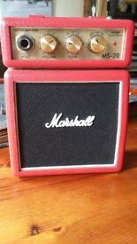 Marshall MS-2R guitar amplifier