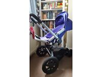 Quinny buzz extra pram suitable from birth