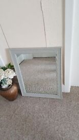 Mirror finished in Annie Sloan chalk paint 73 x 57cm