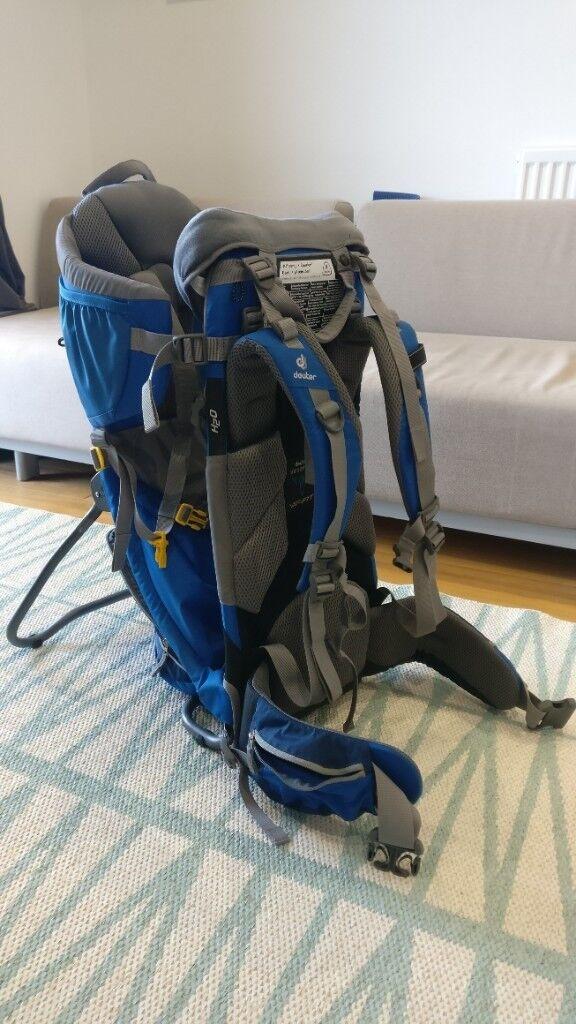df74529c0ab Deuter Kid Comfort 2 Child Carrier   Baby Carrier   Backpack. Near ...