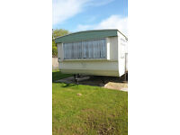 Skegness Static caravan 35 footx12foot 8 berth to rent in Skegnes