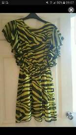 Size 8 frill sleave dress