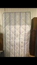 Single devan with mattress