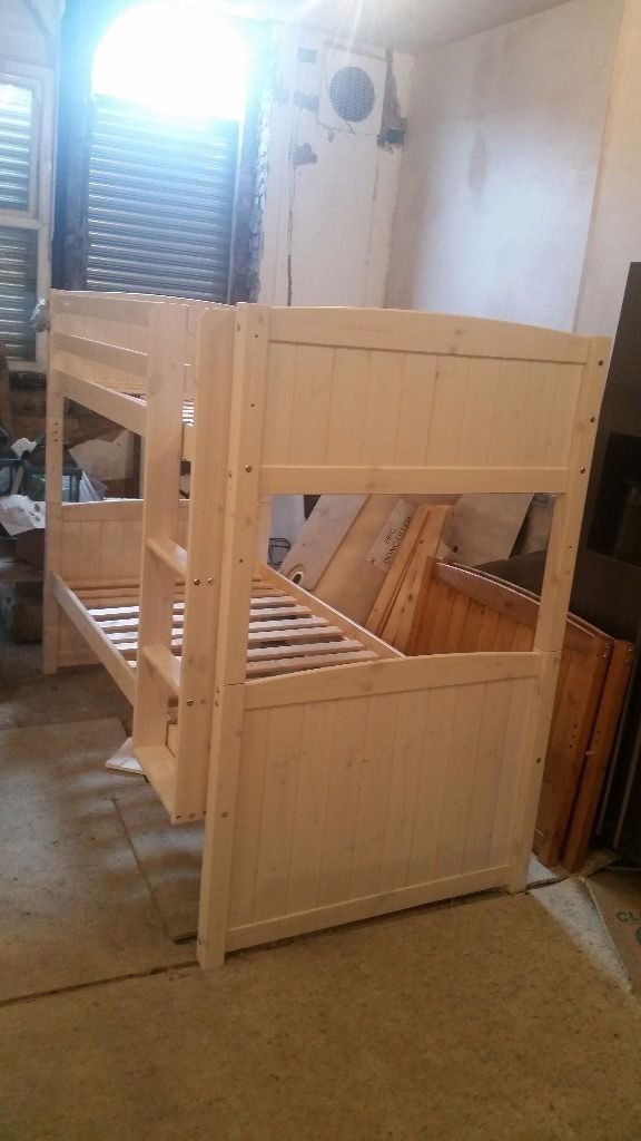Bunk bed brand new adult and kids in creamin Fallowfield, ManchesterGumtree - Bunk bed brand new in cream. very good quality and real wood please see pictures feel free to ask collect from Levenshulme M19 we can arrange local delivery