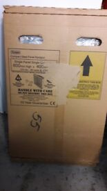 Radiator 600mm x 400mm brand new boxed and unused