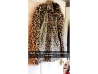 Girls 12-13 fur jacket