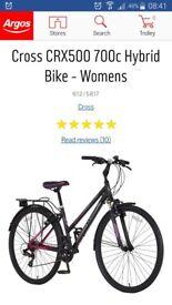 Brand New Cross Hybrid Ladies Bike from Argos