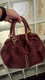 LIU.JO HANDBAG. medium/large. Bordeaux leather.