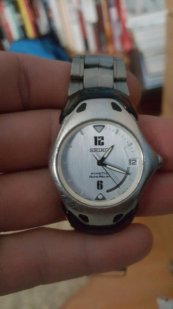 Seiko kinetic arctura watch mensin Washington, Tyne and WearGumtree - Seiko kinetic arctura mens watch. Nice watch kinetic movement strap replaced. Good overall condition surplus to requirements. Getting rare now priced to sell