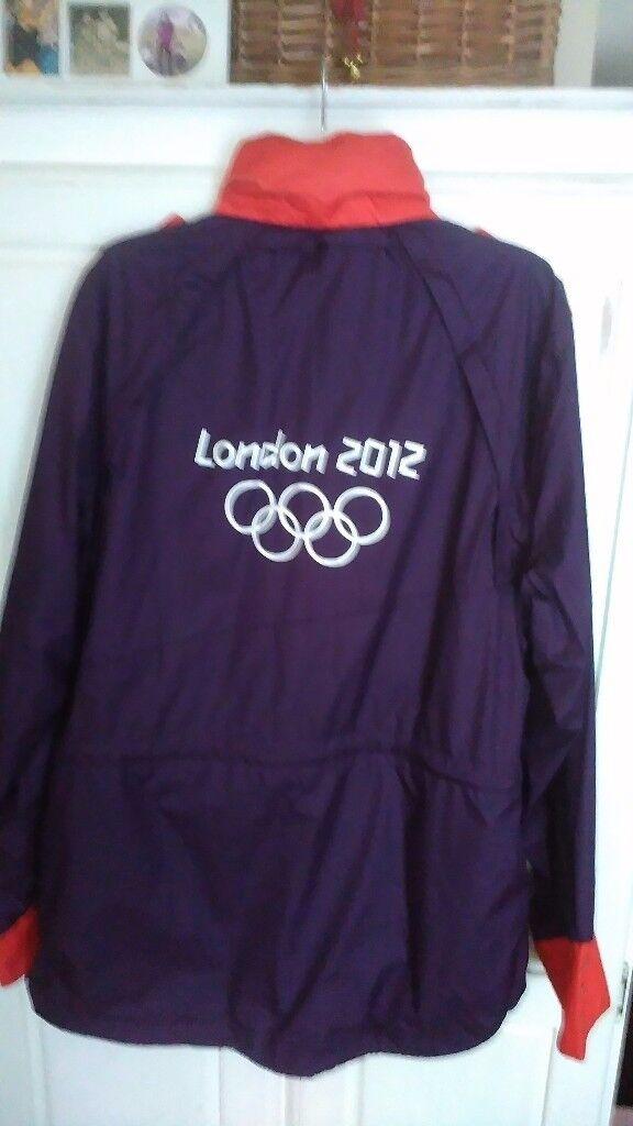 London 2012 adidas jacket, size L
