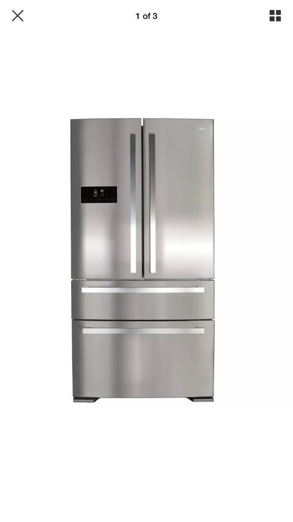Ex display Stainless Steel Frost Free American Fridge Freezer £550 price
