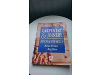 Carpentry & joinery book by Porter and Rose